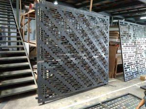 Harga pintu pagar besi dorong