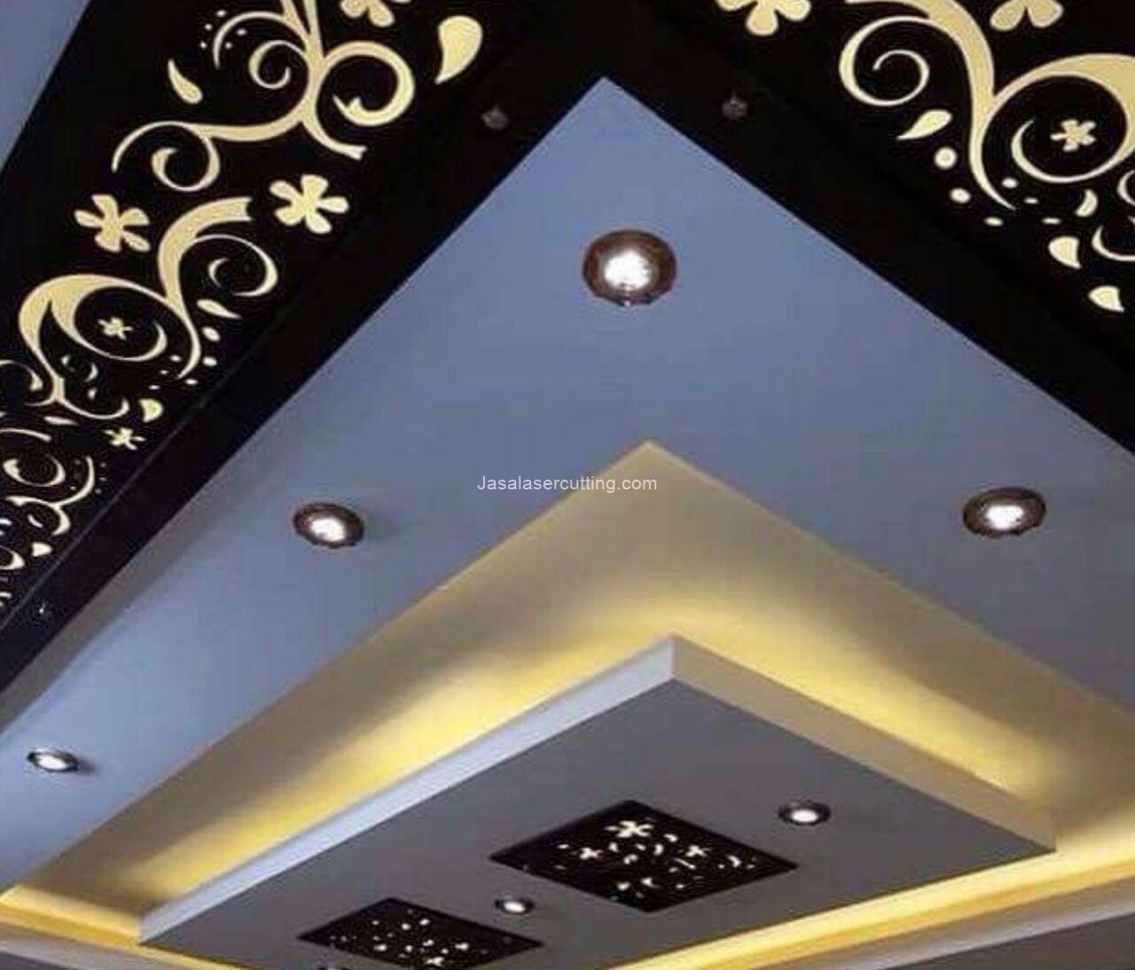 Dekorasi Ruang Tamu Minimalis Modern Jasa Laser Cutting