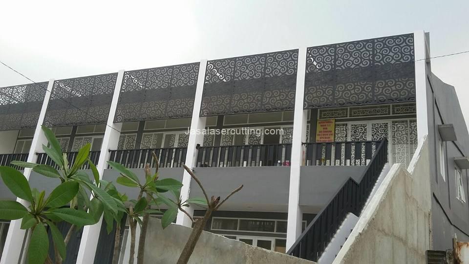 Pagar Balkon Minimalis Untuk Rumah Minimalis Idaman Jasa Laser