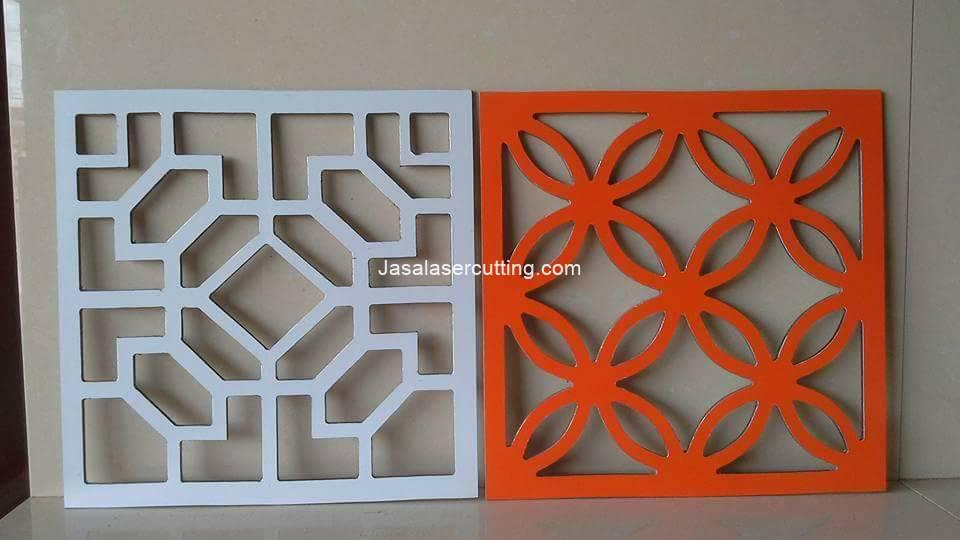 Cutting Laser PVC Board
