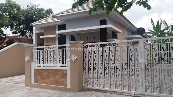 Pintu Pagar Besi dengan Motif Cantik dan Modern Menambah Nilai Estetika Rumah Hunian