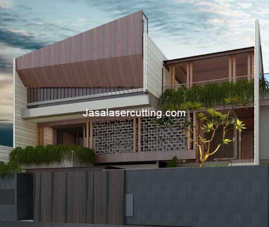 pagar depan rumah