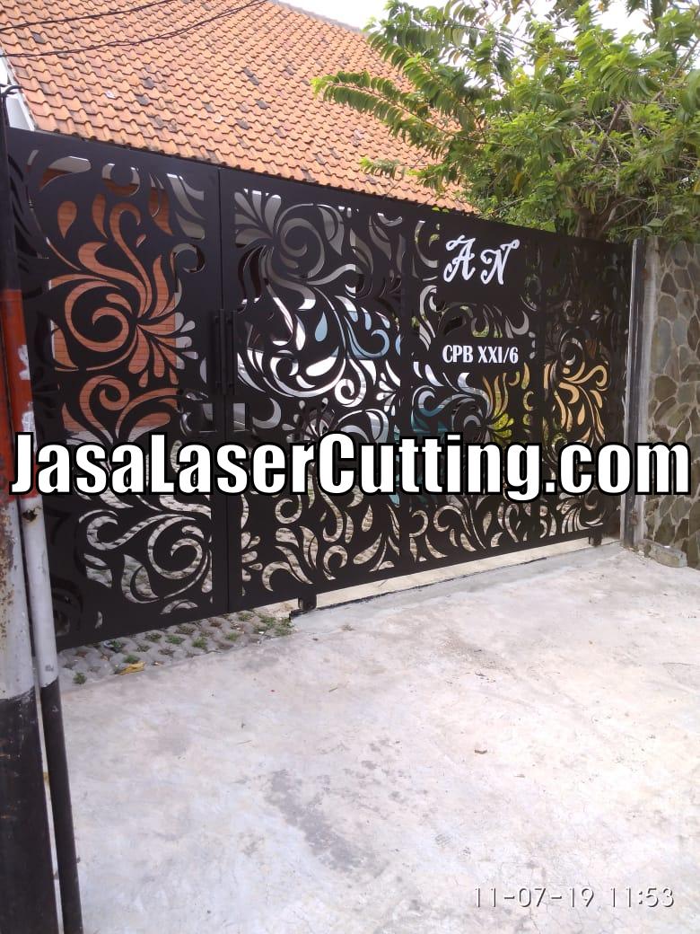 pagar laser cutting
